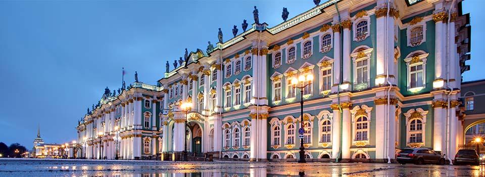 Kreuzfahrt St. Petersburg: Ausflug Winterpalast in St. Petersburg Russland